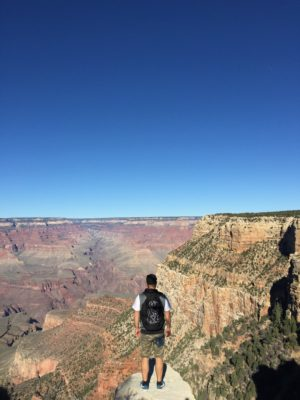 Grand Canyon a ja!